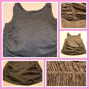 Like New! Old Navy Ruched Fitted Active Top